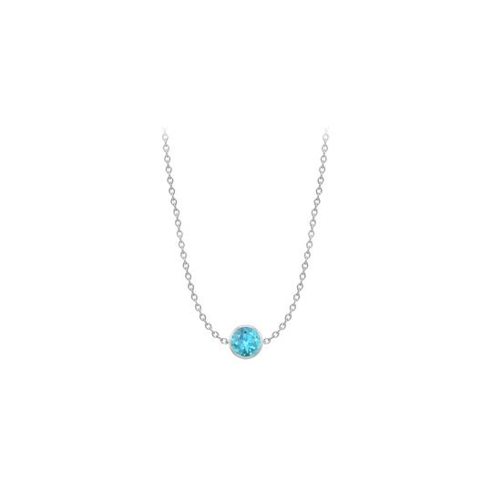 Preload https://img-static.tradesy.com/item/22076602/blue-white-diamond-by-the-yard-topaz-noveamber-birtstone-14k-necklace-0-0-540-540.jpg