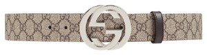 Gucci Only 1 Left - BRAND NEW GG Supreme Belt with G Buckle - Size 100