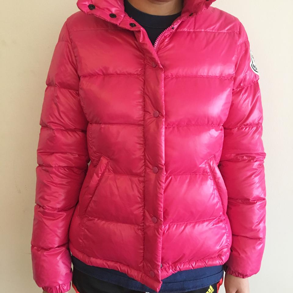 8dec6d9e0fba Moncler Hot Pink Vintage Claire Puffer Jacket Size 4 (S) - Tradesy
