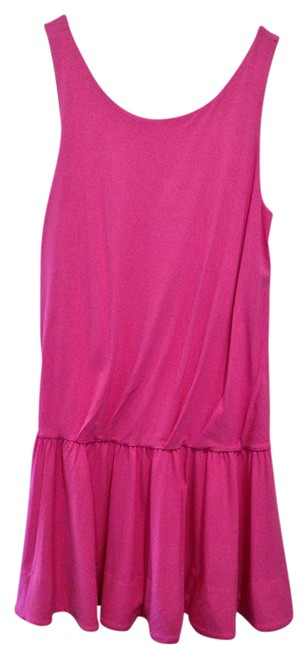 Preload https://img-static.tradesy.com/item/22077013/marc-by-marc-jacobs-pink-sleeveless-short-casual-dress-size-8-m-0-1-650-650.jpg