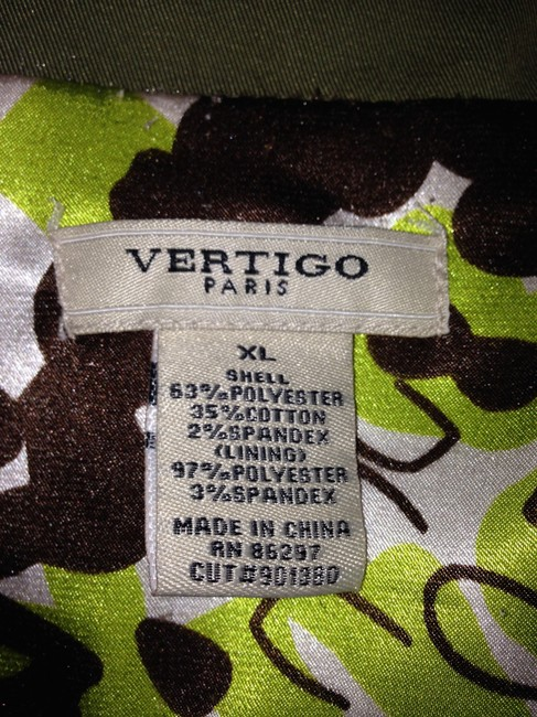 Vertigo Paris Trench Size Xl Coat