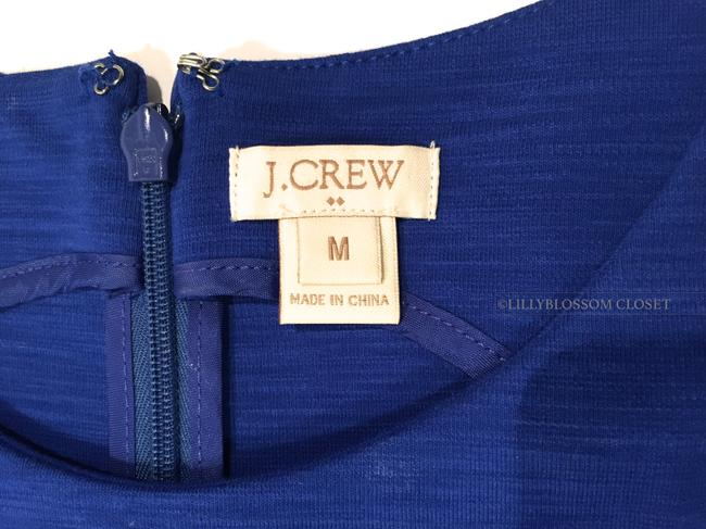 J.Crew short dress Royal Blue A-line Pleated Dinner Date Comfortable on Tradesy Image 2
