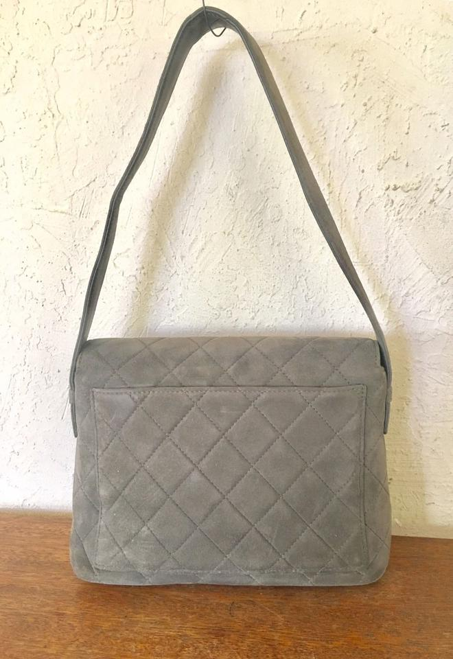 d8c11c2e1b8b Chanel Quilted Flap 943558 Olive Suede Leather Hobo Bag - Tradesy