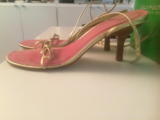 Lilly Pulitzer Gold Sandals Image 3