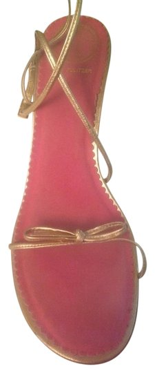 Lilly Pulitzer Gold Sandals Image 4