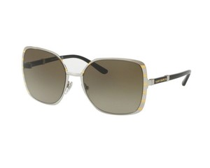 Tory Burch TORY BURCH Sunglasses Silver Gold / Gradient Smoke 57mm TY6055 320413