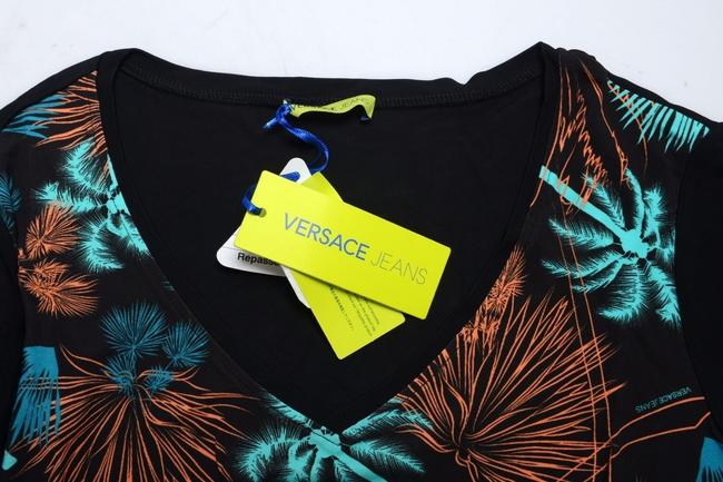 Versace Jeans Collection Top Black Image 2