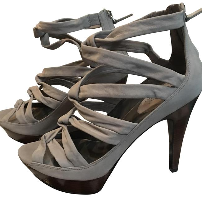 Item - Grey Maria Sharapova Air Jasmine Ot Sandal Platforms Size US 9.5 Regular (M, B)