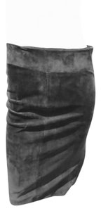 Gucci Tie Up Skirt CHOCOLATE BROWN