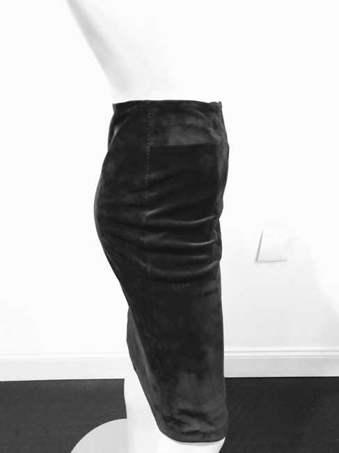 Gucci Tie Up Skirt CHOCOLATE BROWN Image 3
