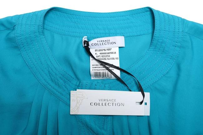 Versace Collection Top Blue Image 2
