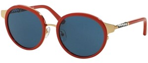 Tory Burch TORY BURCH Sunglasses Gold Red / Solid Blue 52 mm TY 6042Q 310980