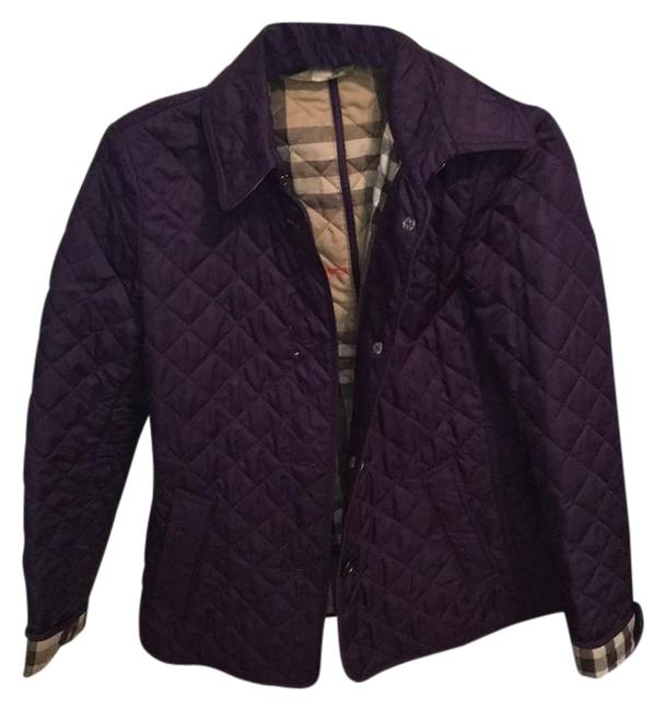 Item - Dark Purple Quilted Jacket Size 4 (S)