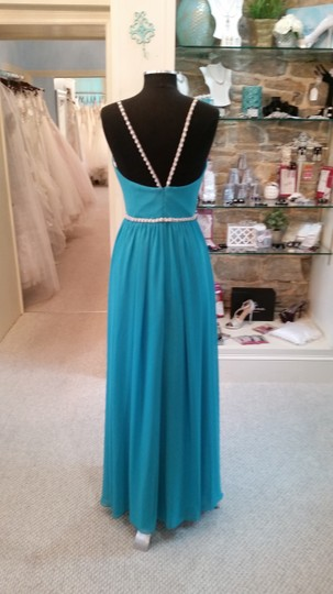 Carribean Chiffon 5623 Feminine Bridesmaid/Mob Dress Size 10 (M) Image 1