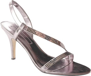 Bandolino Prom Stiletto Silver Formal