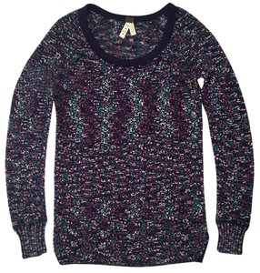 Free People Tres Pettite Cozy Comfortable Knit Tweed Sweater