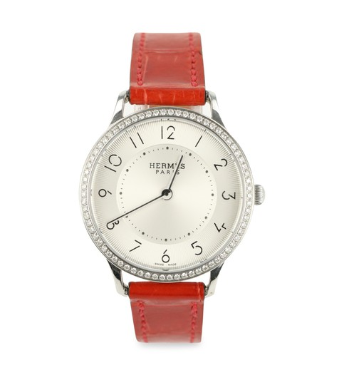 Preload https://img-static.tradesy.com/item/22079270/hermes-red-alligator-band-slim-mm-32-mm-watch-0-4-540-540.jpg