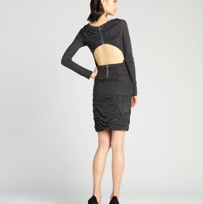 Alice + Olivia Ruched Jersey Dress Image 1