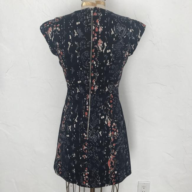 French Connection Navy Printed Dress Image 2
