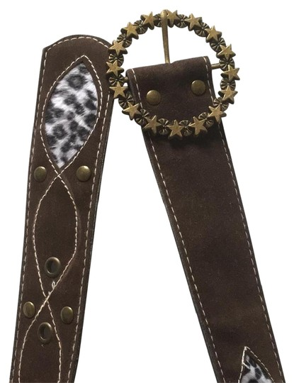 Preload https://img-static.tradesy.com/item/22079828/brown-animal-print-suede-leather-with-gold-rusted-buckle-belt-0-10-540-540.jpg