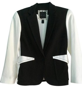 Kelly Wearstler Color Rockabilly 1960's Mod Black/White Blazer