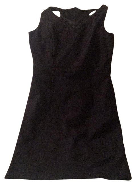 Preload https://img-static.tradesy.com/item/22079978/cynthia-rowley-black-short-workoffice-dress-size-6-s-0-1-650-650.jpg