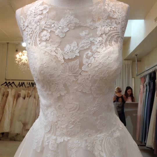 Venus Bridal Ivory/Nude Lace/Tulle At4669xn Traditional Wedding Dress Size 10 (M) Image 1