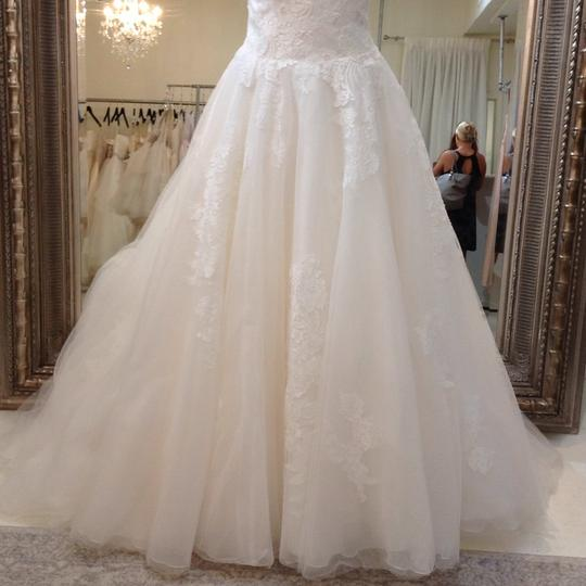 Venus Bridal Ivory/Nude Lace/Tulle At4669xn Traditional Wedding Dress Size 10 (M) Image 2