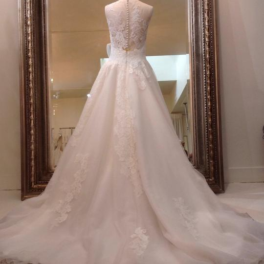 Venus Bridal Ivory/Nude Lace/Tulle At4669xn Traditional Wedding Dress Size 10 (M) Image 4