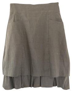 Sarah Pacini Skirt Grey Gray
