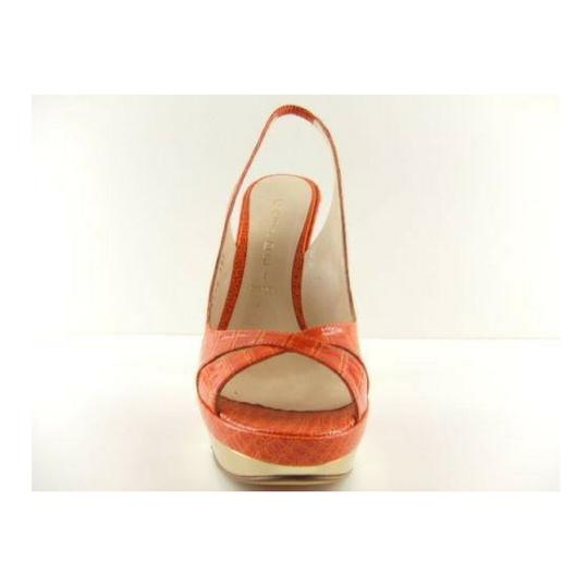 Casadei Made In Italy Sizes 5 5.5 Orange Pumps Image 1