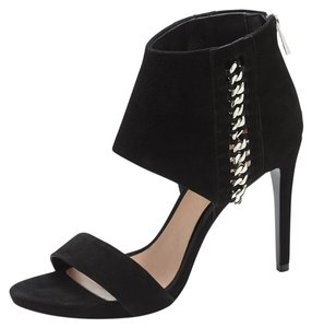 Vince Camuto Suede Stiletto Sandal Black Formal