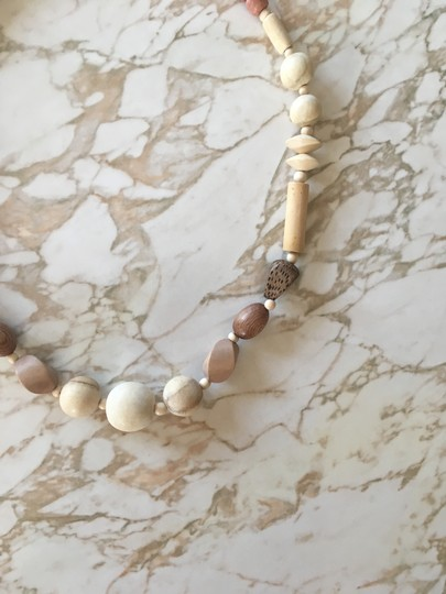 Madewell Wooden Beaded Necklace Image 2
