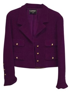 Chanel Plum Jacket