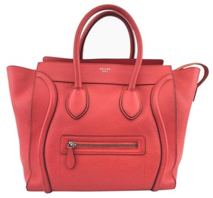 Cline Satchel in red