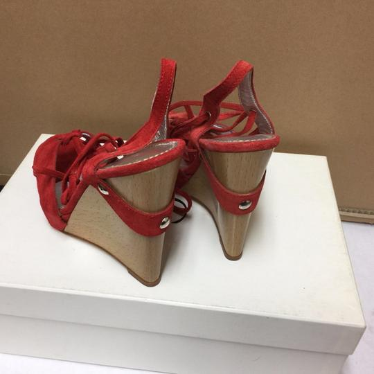 Casadei 75% Off Retail Made In Italy Sizes 5-6 Red Pumps Image 2