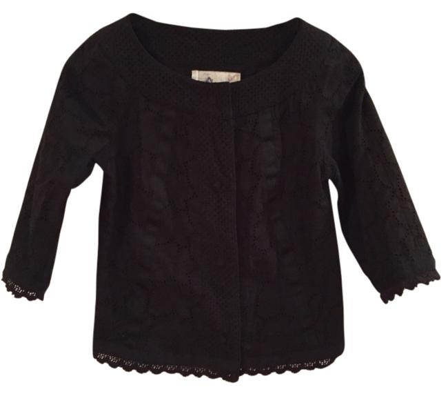Preload https://item2.tradesy.com/images/anthropologie-black-spring-jacket-size-2-xs-2208081-0-0.jpg?width=400&height=650