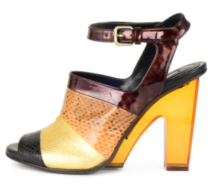 Dries van Noten multi-color Pumps