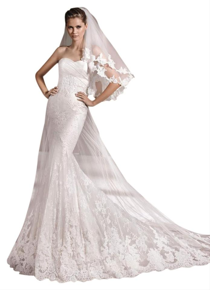 La sposa denia wedding dress on tradesy for La sposa wedding dress price