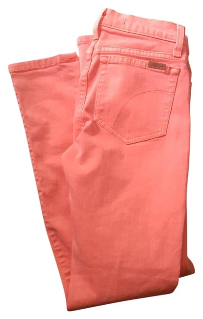 Item - Orange Light Wash High Rise Ankle Length Skinny Jeans Size 24 (0, XS)