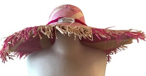 J.Crew NANNACAY FOR J.CREW TULULU HAT PINK NATURAL