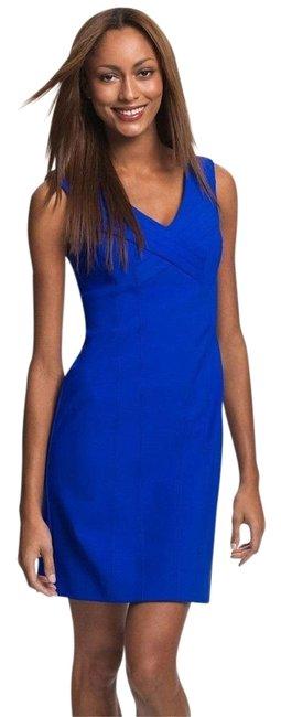 Preload https://img-static.tradesy.com/item/22081065/laundry-by-shelli-segal-cobalt-blue-fitted-sexy-vneck-short-night-out-dress-size-4-s-0-1-650-650.jpg