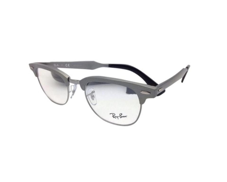 Ray-Ban Rb 6295 2808 51-21 Gunmetal Clubmaster Rx-able Eyeglasses ...