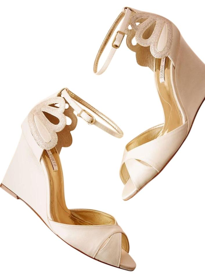 2671c3288553 Ivory De Mer Wedges Formal Shoes Size EU 39 (Approx. US 9) Regular ...