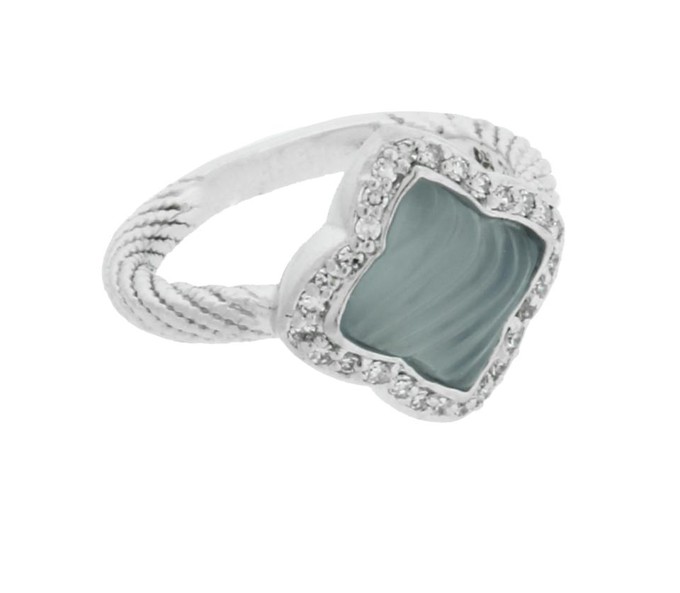 green blue made gray chalcedony cfm rings white design