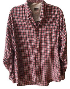 Brandy Melville Button Down Shirt Red