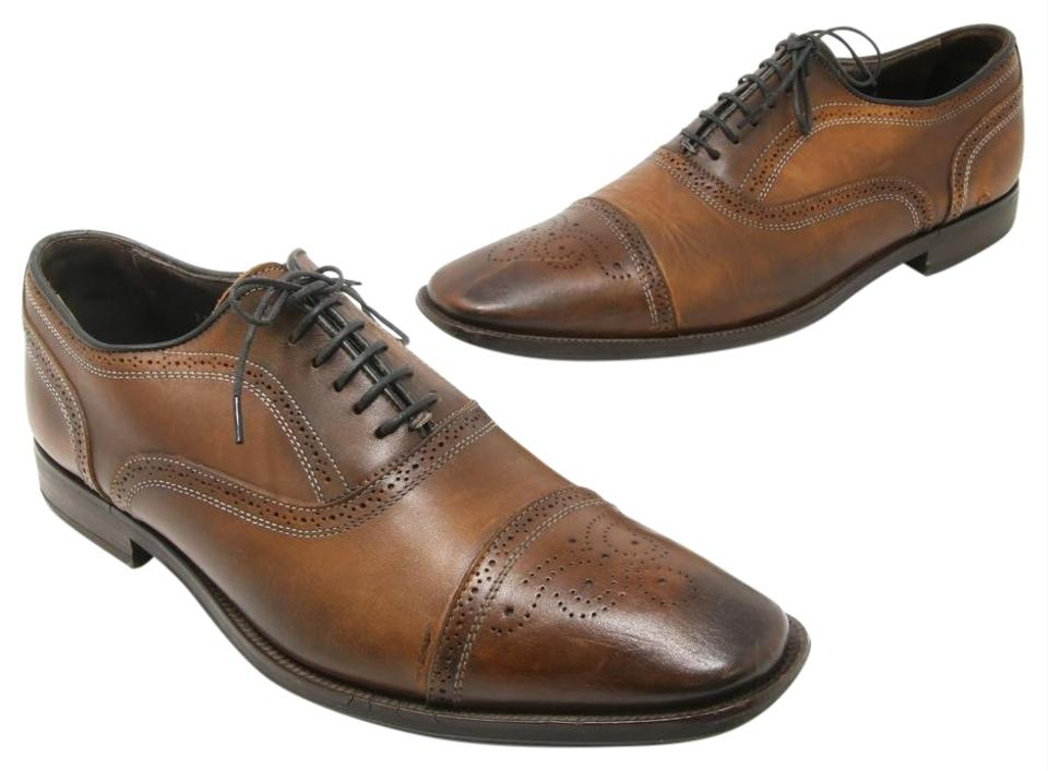Brown Leather Shoes Discoloration