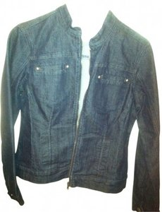 Baccini Blue jean denim Womens Jean Jacket