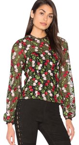 Alexis Top Black, Green, Red, Pink