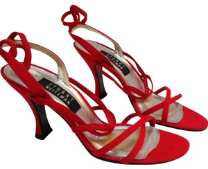 Stuart Weitzman Red Sandals